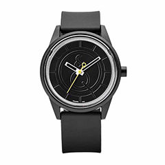 Smile Solar Unisex Black Strap Watch-Rp00j002y