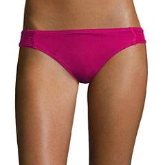 Arizona Solid Hipster Swimsuit Bottom-Juniors