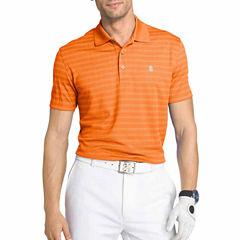 IZOD Golf Grid Short Sleeve Polo Shirt