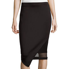 Bisou Bisou® Asymmetrical Illusion Skirt