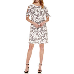 Perceptions Short Sleeve Shift Dress