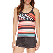 ZeroXposur® Stripe Tankini Swimsuit Top or Board Short
