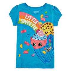 Shopkins Graphic T-Shirt-Preschool Girls