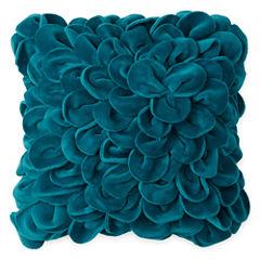 Home Expressions 3D Floral Decorative Pillow