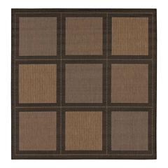 Couristan® Summit Indoor/Outdoor Square Rug