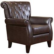 Brady Tufted Club Chair