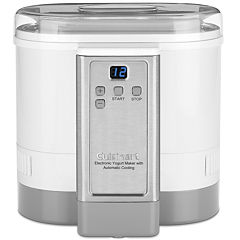 Cuisinart CYM-100 Electronic Yogurt Maker with Automatic Cooling