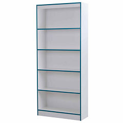 Axess 5-Shelf Bookcase