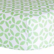 Trend Lab® Lauren Lattice Fitted Crib Sheet
