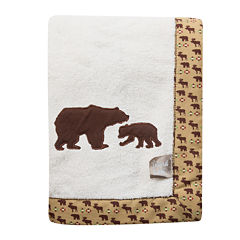 Trend Lab® Bear Receiving Blanket