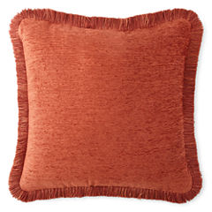 JCPenney Home™ Chenille Fringe Decorative Pillow