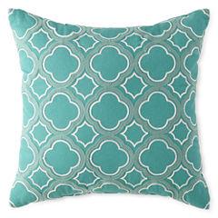 JCPenney Home™ Clover Trellis Decorative Pillow