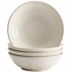BonJour® Paisley Set of 4 Fruit Bowls