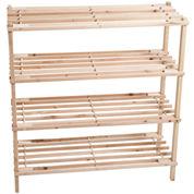 Lavish Home™ 4-Tier Shoe Storage Rack
