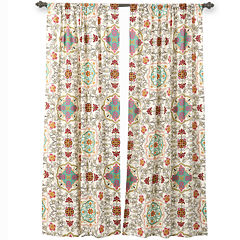 Greenland Home Fashions Esprit Spice 2-Pack Rod-Pocket Curtain Panels