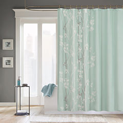 Madison Park Athena Floral Print Shower Curtain