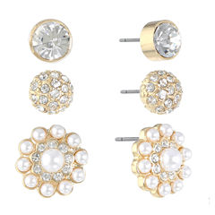 Monet Jewelry 3-pc. Earring Sets