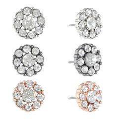 Monet Jewelry 3-pc. Earring Sets