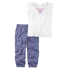 Carter's2-pc. Legging Set-Preschool Girls
