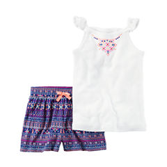 Carter's 2-pc. Short Set-Preschool Girls