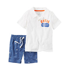 Carter's 2-pc. Short Set - Toddler Boys