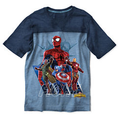 Avengers Graphic T-Shirt-Preschool Boys