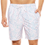 City Streets Pattern Swim Shorts