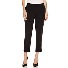 Worthington Slim Fit Suit Pants-Petites