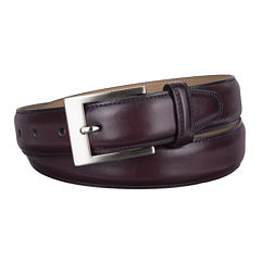Stafford® Feather Edge Belt with Brushed Nickel Buckle - Big & Tall
