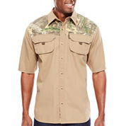 Realtree® Ripstop Short-Sleeve Camp Shirt
