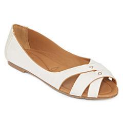 GC Shoes Perfect Timing Peep-Toe Flats