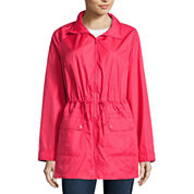 St. John's Bay Wind Resistant Water Resistant Raincoat