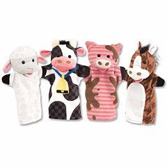 Melissa & Doug® Farm Friends Hand Puppets
