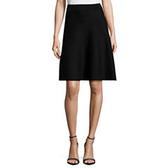 Worthington Rayon Skater Skirt