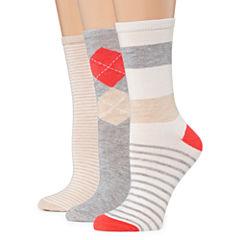Mixit 3 Pair Crew Socks