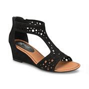 Eurosoft Mesa Womens Wedge Sandals