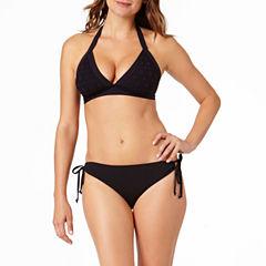 a.n.a® Mix & Match Crochet Halter Swim Top or Side-Tie Hipster Swim Bottoms