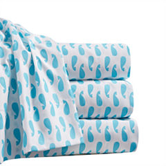 By The Seashore Microfiber Moby Sheet Set