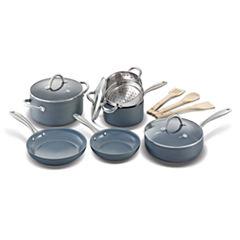 GreenPan Lima 12-pc. Hard Anodized Non-Stick Cookware Set