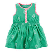 Carter's® Sleeveless Printed Dress - Baby Girls newborn-24m