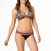 a.n.a® Mix & Match Striped Ombre Halter Swim Top or Hipster Swim Bottoms