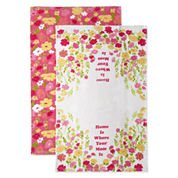 JCPenney Home Home Is Where Your Mom Is 2-pc. Kitchen Towel