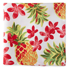 Outdoor Oasis Pineapple 4-pc. Napkins