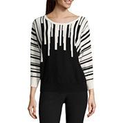 Worthington Long Sleeve Pullover Sweater