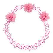 Carole Flower Jelly Choker Necklace