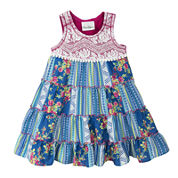 Rare Editions Sleeveless Patchwork Dress - Toddler Girls 2t-5t