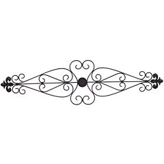Forged Metal Scroll Wall Décor