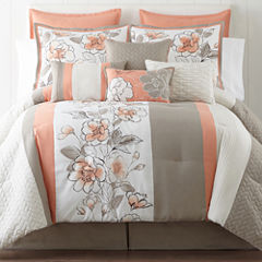 Home Expressions™ Grace 10-pc. Comforter Set