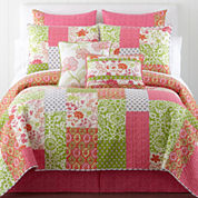 Home Expressions™ Winsome Floral Quilt & Accessories