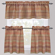 Park B. Smith Sumatra Rod-Pocket Kitchen Curtains